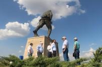 ATATÜRK EVİ - Milli Parklar Genel Müdür Yardımcısı Mustafa Bulut Dumlupınar'da İncelemlerde Bulundu