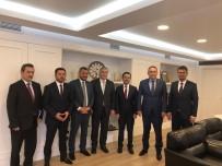 Nevşehir Heyetinden Ulaştırma Ve Altyapı Bakanı Turhan'a Ziyaret