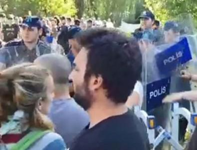 ODTÜ'de öğrencilere polis müdahalesi