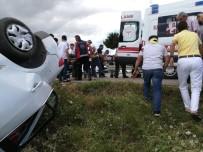 Amasya'da Trafik Kazası Açıklaması 5 Yaralı