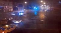 TRAFİK IŞIĞI - Emniyet Müdürünün Yaptığı Kaza Kamerada