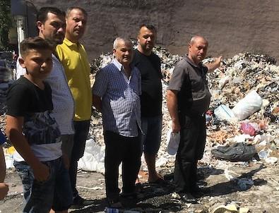 İzmir'in göbeğinde isyan ettiren çöp dağları