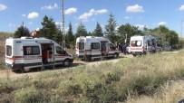 Kırıkkale'de Trafik Kazası Açıklaması 2'Si Çocuk 6 Yaralı