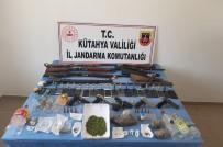 KURUSIKI TABANCA - Kütahya Merkezli Uyuşturucu Operasyonu Açıklaması 20 Gözaltı