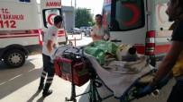 FABRIKA - Tişörtünü Almaya Giden İşçinin Üzerine Yanan Elektrik Kablosu Düştü