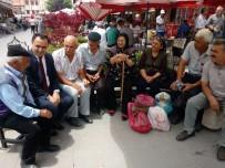 Vali Çakır, Çay Ocağında Vatandaşlarla Bir Araya Geldi