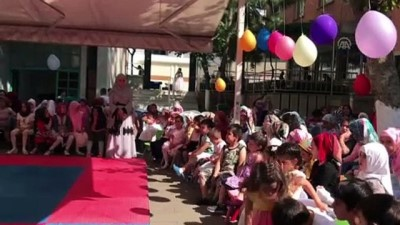 170 Kız Öğrenci 'Yaz Kur'an Kursu'ndan Mezun Oldu