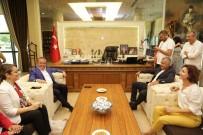 ŞÜKRÜ SÖZEN - Başkan Böcek Manavgat'ı Ziyaret Etti