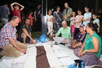 Başkan Gültak, Parkta Vatandaşlarla Çay İçti