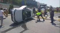 Çekmeköy'de Trafik Kazası Açıklaması 3 Yaralı