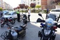 Karaman'da Elektrikli Bisiklet Ve Motosikletlere Yönelik Denetimler Arttırıldı