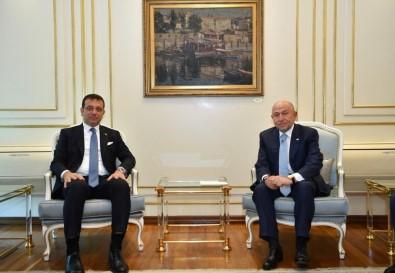 Nihat Özdemir'den İBB Başkanı İmamoğlu'na Ziyaret