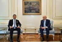 Ekrem İmamoğlu - Nihat Özdemir'den İBB Başkanı İmamoğlu'na Ziyaret