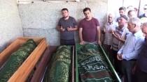 Samsun'da Derede Boğulan 3 Çocuğun Cenazesi Toprağa Verildi