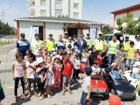 TRAFİK EĞİTİM PARKI - Yaz Kursu Öğrencilerine 'Trafik Eğitimi' Verildi