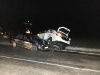 Bartın'da Trafik Kazası Açıklaması 5 Yaralı