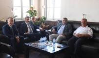 Başkan Yılmaz Erdek'i Ziyaret Etti