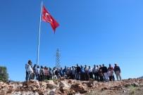 ADAKÖY - Beyşehir Adaköy'e Şehitler Anısına Türk Bayrağı Dikildi