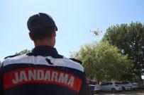 Jandarmadan Dronlu Trafik Ve Asayiş Denetimi