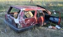 Kabir Ziyaretinden Dönen Aile Kaza Yaptı Açıklaması 6 Yaralı