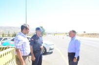 BAYRAM ŞEKERİ - Kaymakam Duru, Trafik Çevirmesine Katıldı