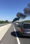 Konya'da Mühimmat Yüklü Kamyonda Yangın