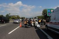 LÜKS OTOMOBİL - TEM Otoyolunda Kazalar Nedeniyle Trafik Durma Noktasına Geldi
