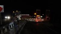 Tokat'ta Yola Dökülen Yağ Kazaya Neden Oldu Açıklaması 2 Yaralı