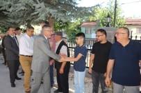 Başkan Bozkurt Şehit Aileleri Ve Vatandaşlarla Bayramlaştı