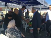 Başkan Çebi, Kurban Satış Ve Kesim Alanında Vatandaşla Bayramlaştı