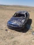 ATLıHISAR - Direksiyon Hakimiyeti Kaybolan Otomobil Takla Attı Açıklaması 1 Yaralı