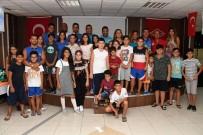 İhsaniye Mahallesindeki 40 Çocuğa Yüzme Eğitimi Verildi