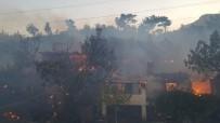 OYMAPıNAR - Manavgat İlçesi Bayrama İki Büyük Yangınla Girdi