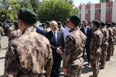 Mardin Valisi Yaman Güvenlik Güçleri İle Bayramlaştı