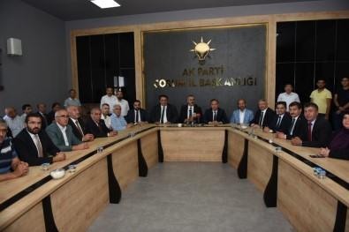 AK Parti Çorum Teşkilatlarında Bayramlaşma