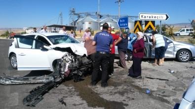 Bayramlaşma Yolunda Trafik Kazası Açıklaması 7 Yaralı