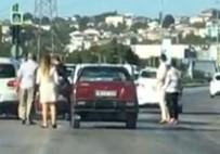 Bursa'da Trafik Magandaları Temizlik İşçisine Saldırdı