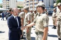 EMNİYET TEŞKİLATI - Jandarma Komutanlığı Ve Emniyet Müdürlüğünde Bayramlaşma