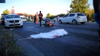 Kamyona Çarpan Kasksız Motosikletli Hayatını Kaybetti