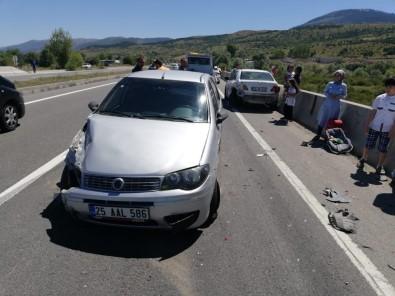 Karabük'te Zincirleme Trafik Kazası Açıklaması 15 Yaralı