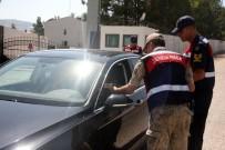 Kilis'te Jandarma Ekipleri 'Drone'lu Uygulama Yaptı