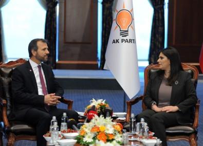 Partilerden AK Parti'ye Kurban Bayramı Ziyareti