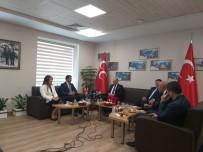 ANAVATAN PARTISI - Partilerden MHP'ye Kurban Bayramı Ziyareti