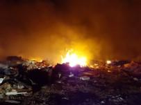Subaşı'da Çöplük Alanında Yangın
