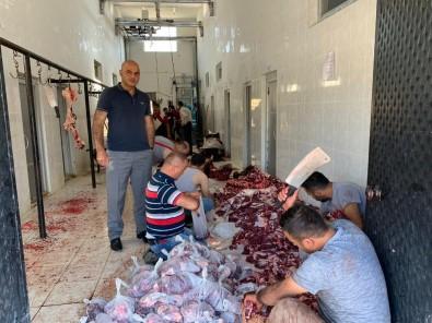 Tuzluca Belediyesi Tarafından Kurban Dağıtımı Yapıldı