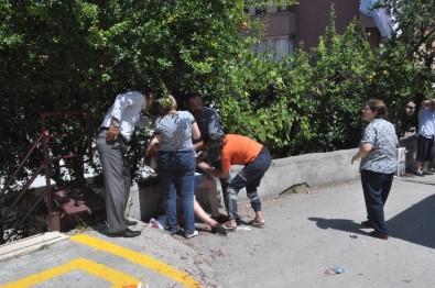 Zonguldak'ta Baba-Oğlu Bıçaklayan Zanlı Tutuklandı