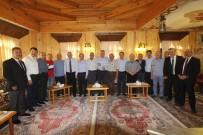 BAYBURT ÜNİVERSİTESİ REKTÖRÜ - Başkan Pekmezci, Bayburt Heyetini Bayburt Evi'nde Ağırladı