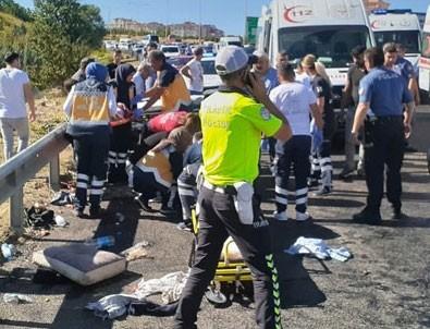 Bayram tatilindeki trafik kazalarında acı bilanço