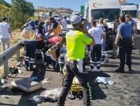 ZİNCİRLEME KAZA - Bayram tatilindeki trafik kazalarında acı bilanço