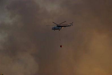 Eskişehir'deki Orman Yangınını Söndürme Çalışmaları Sürüyor